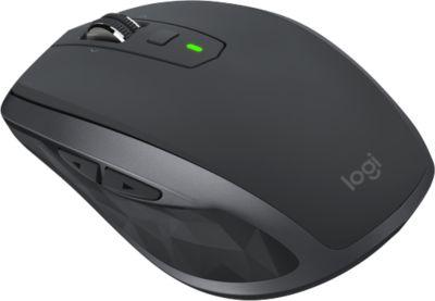 Bluetooth Maus Logitech MX ANYWHERE 2S, für bis zu 3 Computer gleichzeitig nutzbar