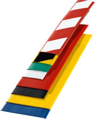 Boden-Markierungsband, B 75 mm, L 50 m, rot/weiß