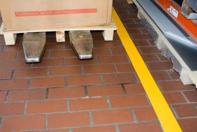 Bodenmarkierungsband Safety-Floor Ultra G, B 100 mm x L 50 m, gelb