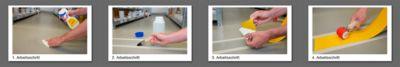 Bodenmarkierungsband Safety-Floor Ultra G, B 100 mm x L 50 m, weiß