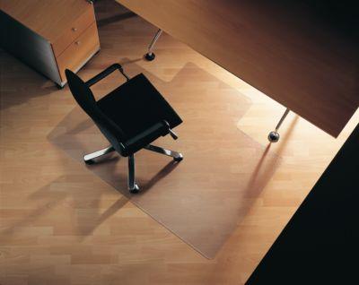 Bodenschutzmatte, eckig mit Aussparung, 1500 x 1200 mm