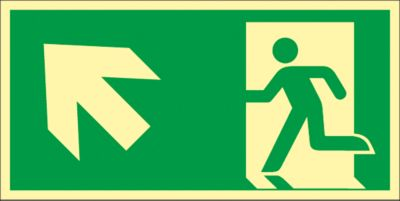 Bord Trap omhoog, naar links