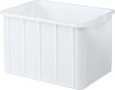 Box, Kunststoff, 96 l, weiß