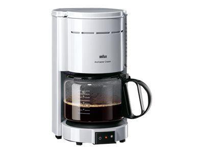 Braun Aromaster Classic KF47/1 WH - Kaffeemaschine - weiß