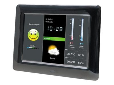 Braun DigiFrame 800 Weather - digitaler Fotorahmen
