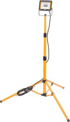 Brennenstuhl JARO 2000T led werfverlichting op statief, voor binnen en buiten, 20 W, 1870 lm, in hoogte verstelbaar en zwenkbaar, kabel, IP65
