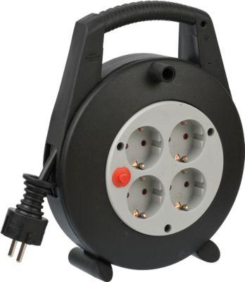 brennenstuhl® Kabelbox Vario-Line, 5 m, zwart