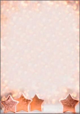 Briefpapier mit Weihnachtsmotiv Sigel Copper Glance, A4, 90g/m², 100 Blatt