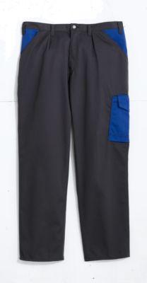 Broek antraciet/blauw, 44