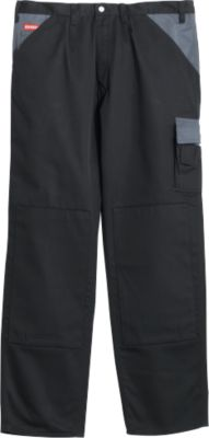 Broek zwart/grijs, 50