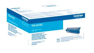 Broer tonercartridge TN-910C, cyaan, cyaan