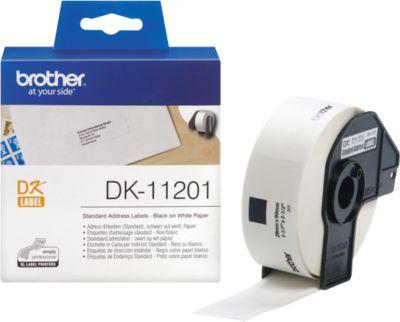 BROTHER Adress-Etiketten DK-11201, 29x90 mm, 400 Stück