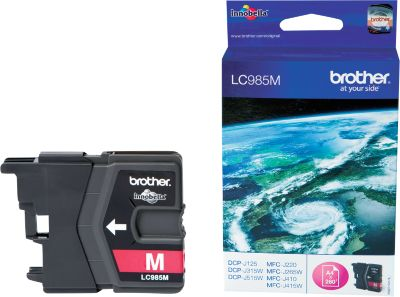Brother inkjet Brother LC985M Inktcartridge magenta, 260 Paginas
