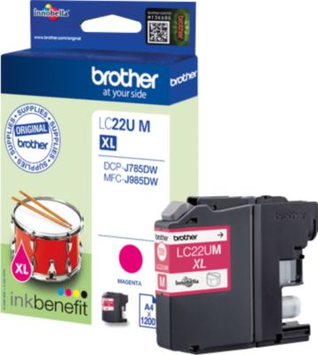 Brother Inktpatroon LC-22UM, magenta, magenta