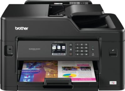 brother kleuren inkjet printer MFC-J5330DW, 4 in 1, met Wifi & LAN-aansluiting