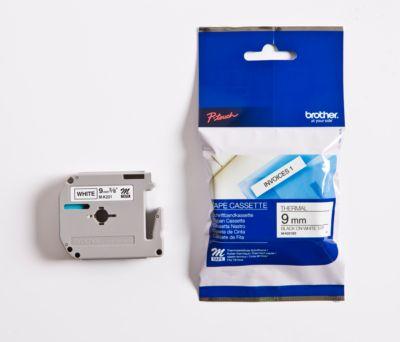 Brother linten voor P-Touch 9 mm, niet-gelamineerd