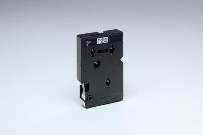 Brother Schriftbandkassette TC-101, 12 mm breit, farblos/schwarz