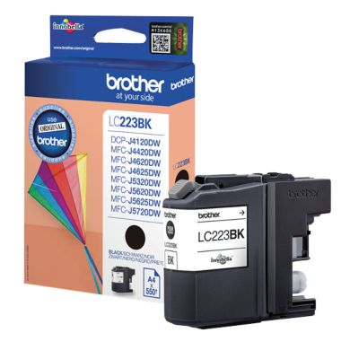 Brother Tintenpatrone LC-223BK, schwarz
