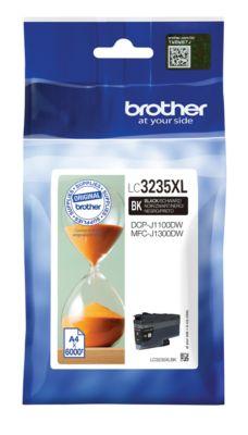 Brother Tintenpatrone LC-3235XLBK, schwarz, 6000 Seiten