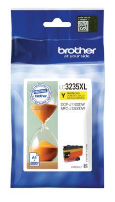 Brother Tintenpatrone LC-3235XLY, gelb, 5000 Seiten