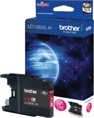 Brother toner Brother LC1280XLM Inktcartridge magenta High-Capacity, 1.200 Paginas ISO/IEC 24711 voor ...