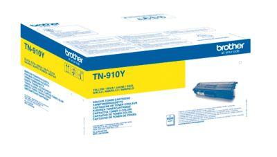 Brother Tonerkassette TN-910Y, gelb