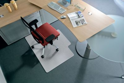 BSM vloerbeschermingsmat vorm B, harde vloer, 1500x1200 mm