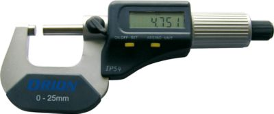 Bügelmessschraube 0-25 mm elektron.