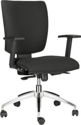 Bürostuhl SPRINTO, ohne Armlehnen, Rückenlehne mit CLIMATEX und Kunststoffschale