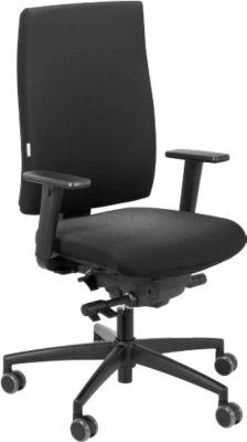 Bürostuhl SSI PROJECT CO2350, Punktsynchronmechanik, ohne Armlehnen, Lordosenstütze