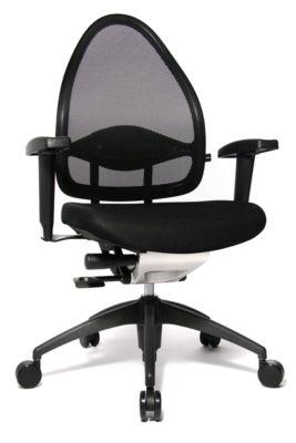 Bürostuhl Topstar OPEN BASE 2010, Synchronmechanik, Armlehnen, Muldensitz, sitzhöhenverstellbar