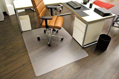 Bureaustoelmat Ecoblue®, dikte mat 1,8 mm, voor harde vloeren, b 1500 mm