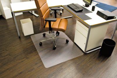 Bureaustoelmat Ecoblue®, dikte mat 1,8 mm, voor harde vloeren, b 750 mm