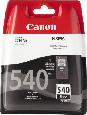 Canon inkjet Canon 5225B005|PG-540 Printkop cartridge zwart gepigmenteerd, 180 Paginas ISO/IEC 24711 v...