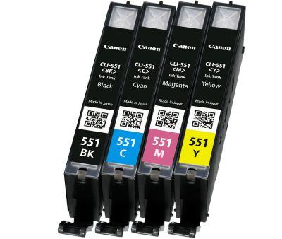 Canon inkjet Canon Multi 4 6509B08|CLI-551 C/M/Y/BK<br/><br/><br/>