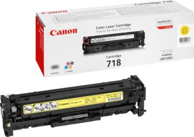Canon T718Y Tonerkassette gelb