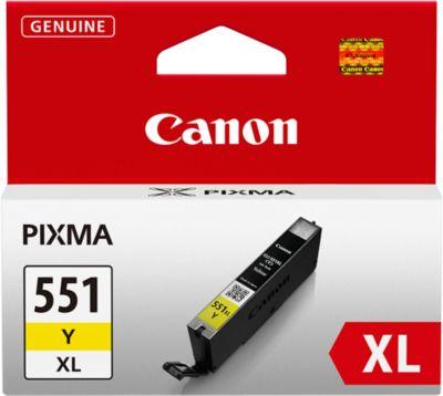 Canon Tintenpatrone CLI-551 XL Y gelb