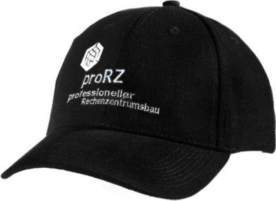 Cap, mit Klettverschluss, inkl. individuellem Logostick & allen Grundkosten, schwarz