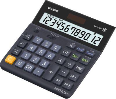 CASIO® bureaurekenmachine DH-12TER, 12 cijfers, extra grote display