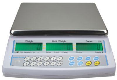 CBC-serie tafelmodel telweegschalen, met programmeerbare display verlichting, teloptimalisatie, capaciteit 15 kg
