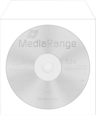 CD-/DVD-papieren hoesjes, zelfklevende flap, zichtvenster, wit, 100 stuks