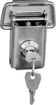 cilinderslot voor aluminium boxen, 2 stuks