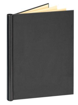 Clipband Veloflex, A4, voor ca. 200 vel, vulhoogte 20 mm, hardboard / PVC, zwart, zwart