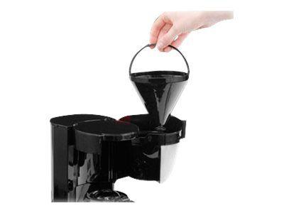 Cloer 5019 - Kaffeemaschine - Edelstahl matt/Schwarz