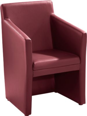 Clubfauteuil Atricon, chili rood