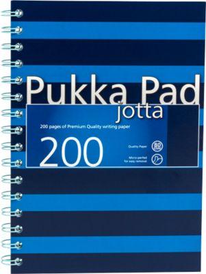 Collegeblock Navy Jotta, Format DIN A5, liniert, blau