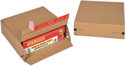 ColomPac Faltkartons Euroboxen, Größe M, 300 x 100 x 300 mm, 10 Stück