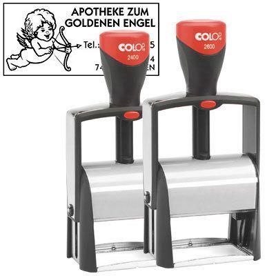 COLOP Firmenstempel 2400, 27 x 58 mm