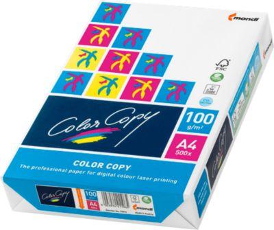 Color-Copy Laser- und Kopierpapier, 100 g/m², DIN A4, 500 Blatt