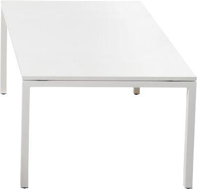 Color vergadertafel, B 1500 mm, wit/wit